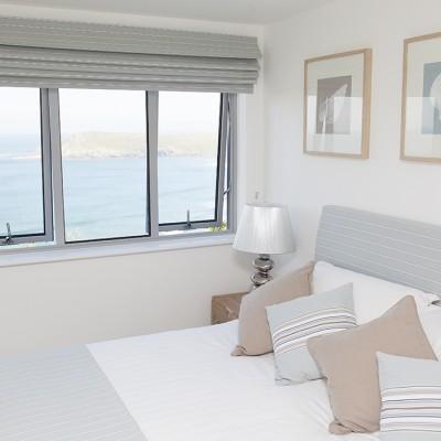 Crantock Bay Apartments bedroom