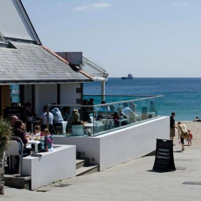 Gylly Beach in Cornwall