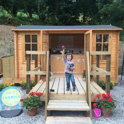 Miss V's Cornish Cream Tea Hut, Cornwall