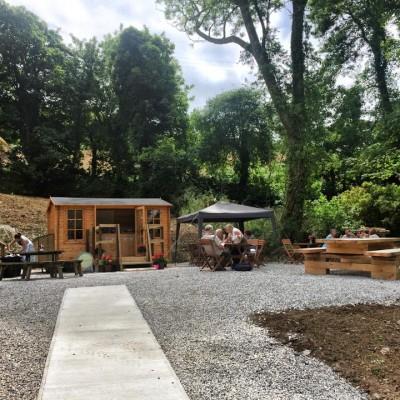 Miss V's Cornish Cream Tea Hut in St Just in Rosalind