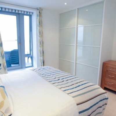 Bedroom - Crantock Bay 5-star Apartments