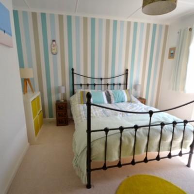 Sandylands bedroom, a dog friendly cottage in Cornwall