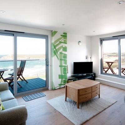 Lounge - Crantock Bay Apartments