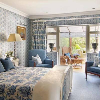 Bedroom - Summer Lodge Hotel in Dorset