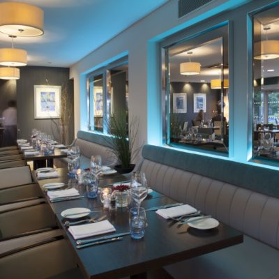 2 AA Rosette-awarded restaurant at Captain's Club Hotel