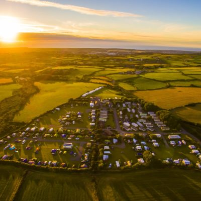 Lanyon Holiday Park in Cornwall