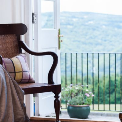 The Horn of Plenty - view from one of the bedrooms