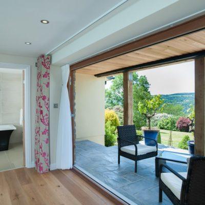 The Horn of Plenty - best room balcony