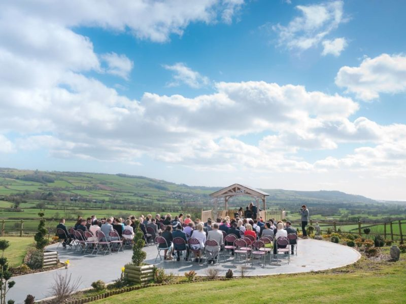 Cranberries Hideaway - exclusive use wedding venue in Devon