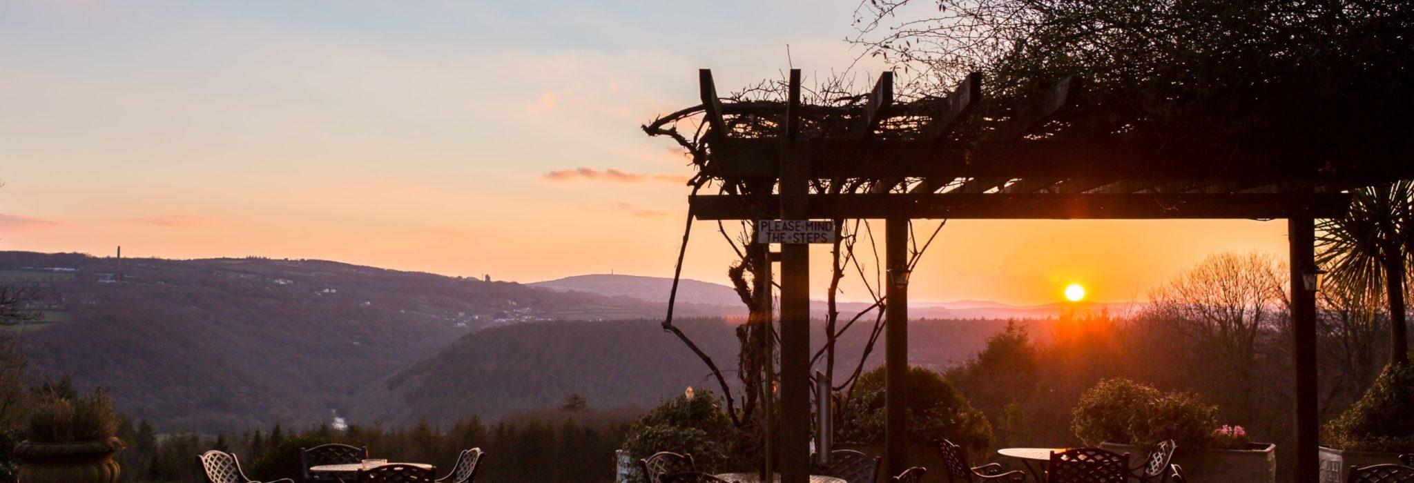 Sunset at The Horn of Plenty