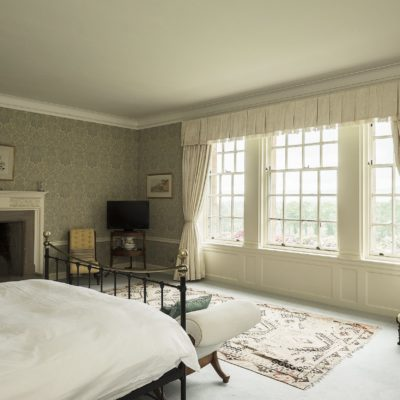 Master bedroom in one of Scotts Castle Holidays properties
