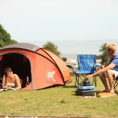 Camping at Ladram Bay Holiday Park