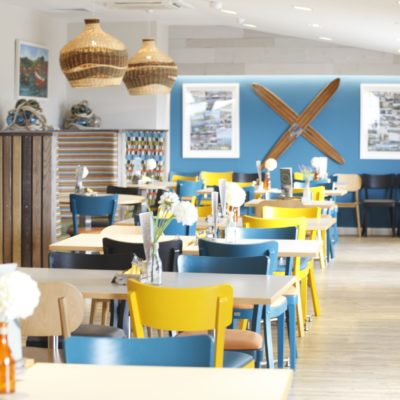 Ladram Bay Holiday Park restaurant