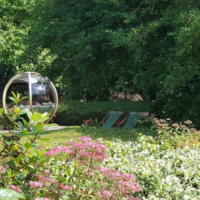 Garden pod at The Eastbury Hotel